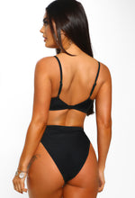 Black Cut Out Bikini