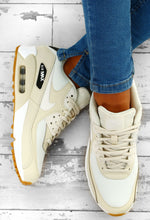 Nike Air Max 90 Cream Trainers