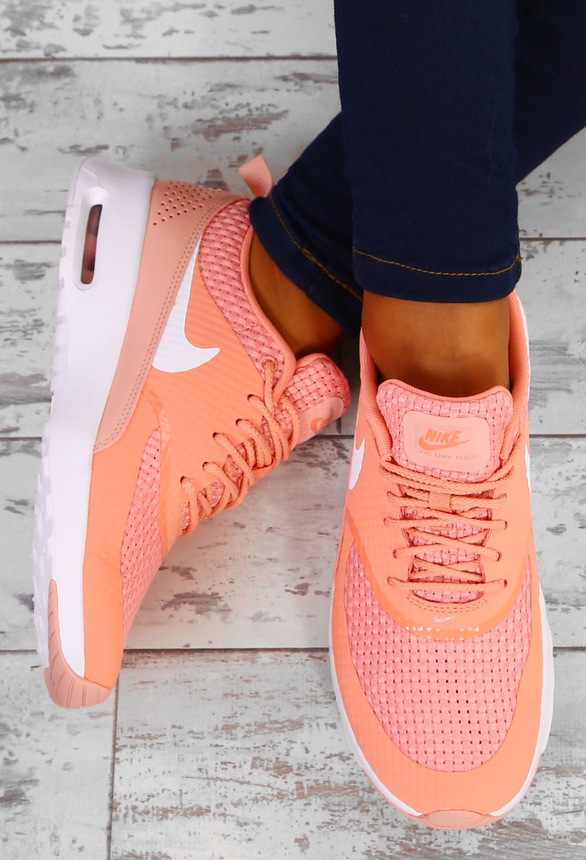 b31caf0753d2 Nike Air Max Thea Crimson Bliss Trainers – Pink Boutique UK