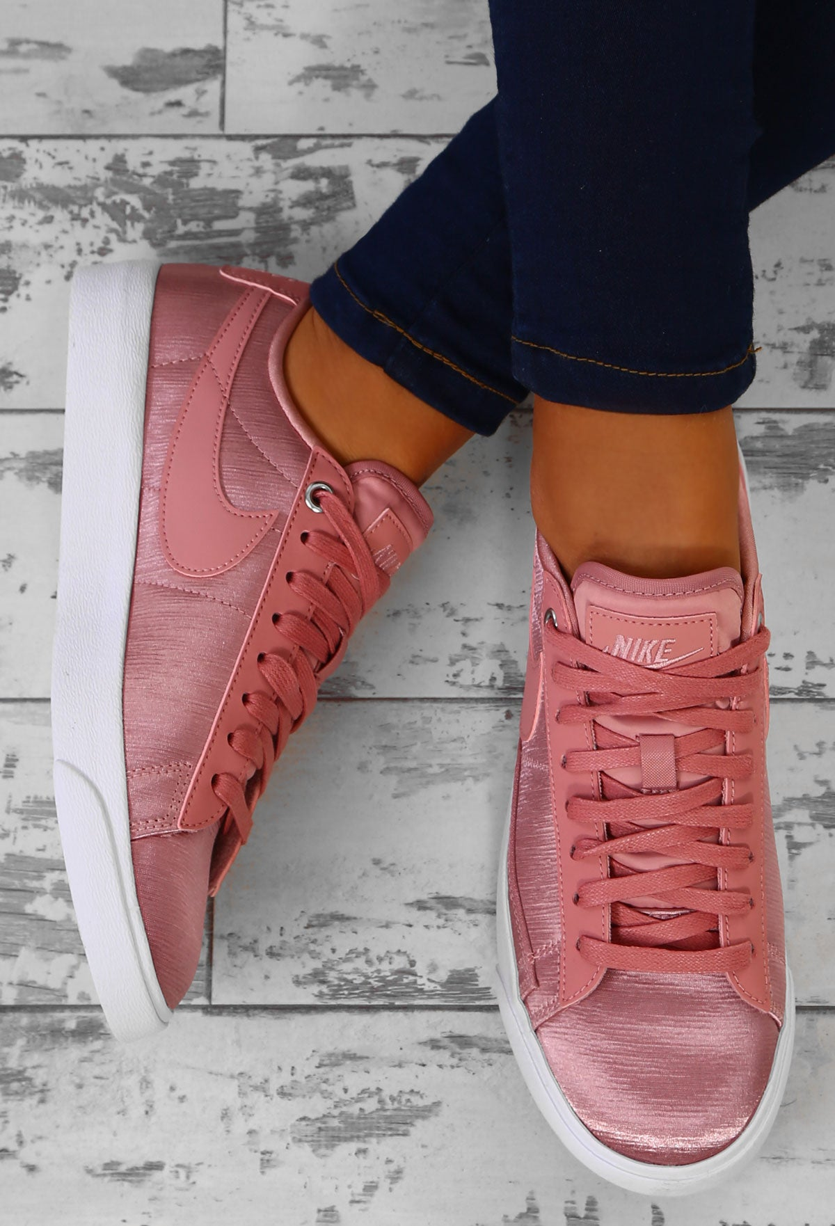 9d5972f0623b Nike Blazer Rust Pink Trainers – Pink Boutique UK