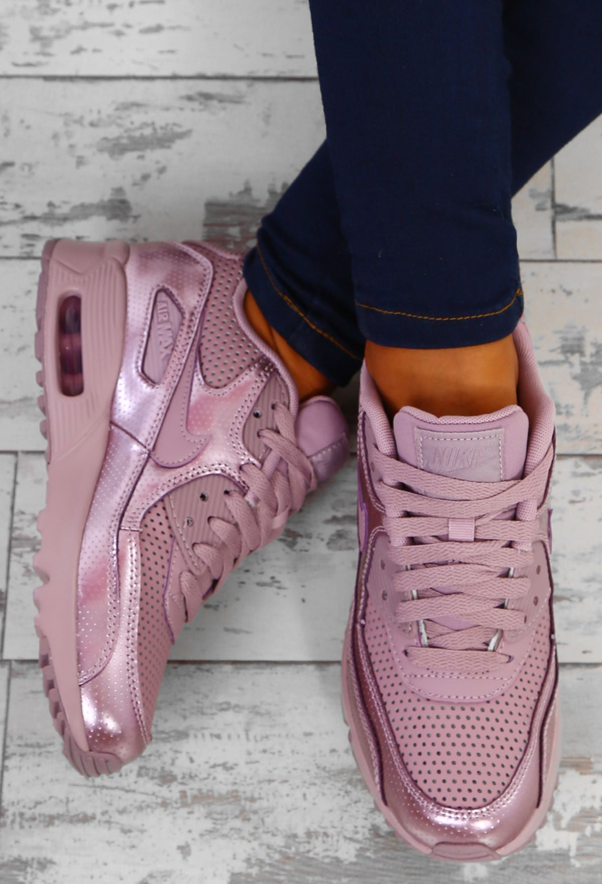 the best attitude 7fdfe a0211 Nike Air Max 90 SE Elemental Rose Trainers – Pink Boutique UK