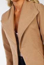 NYC Dreamer Camel Longline Duster Coat