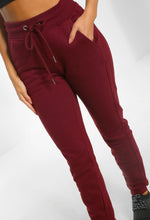 On My Mind Burgundy Joggers