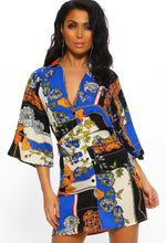 Perfect Woman Multi Print Shirt Dress