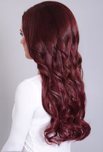 Extreme Volume Burgundy #118 Curly Weft Hair Extensions