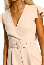belted playsuit