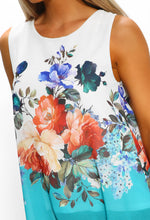 Floral Sleeveless Summer Top