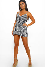 Palm Print Summer Playsuit