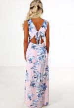 When In Rome Pink Floral Maxi Skirt Playsuit