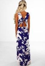 When In Rome Purple Floral Maxi Skirt Playsuit