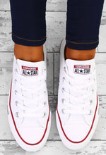 Chuck Taylor Converse All Star Ox Optical White Trainers