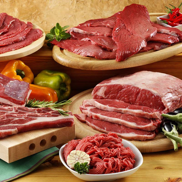 Grass finished beef variety box (8lbs)