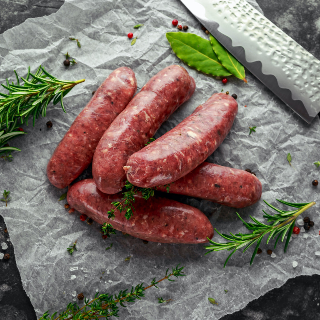 Pastured Octoberfest or Masala sausages (app 1.2 lbs)