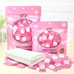 Compressed Cotton Towel