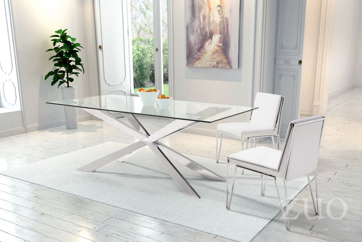 Walla Dining Chair White - Set of 2