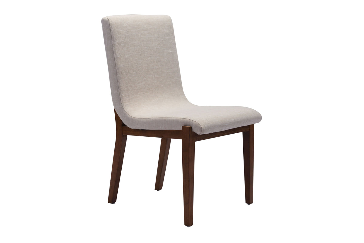 Tezra Dining Chair Beige - Set of 2