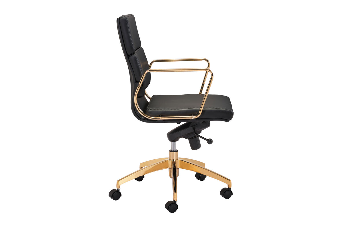 Axis Office Chair Black & Gold
