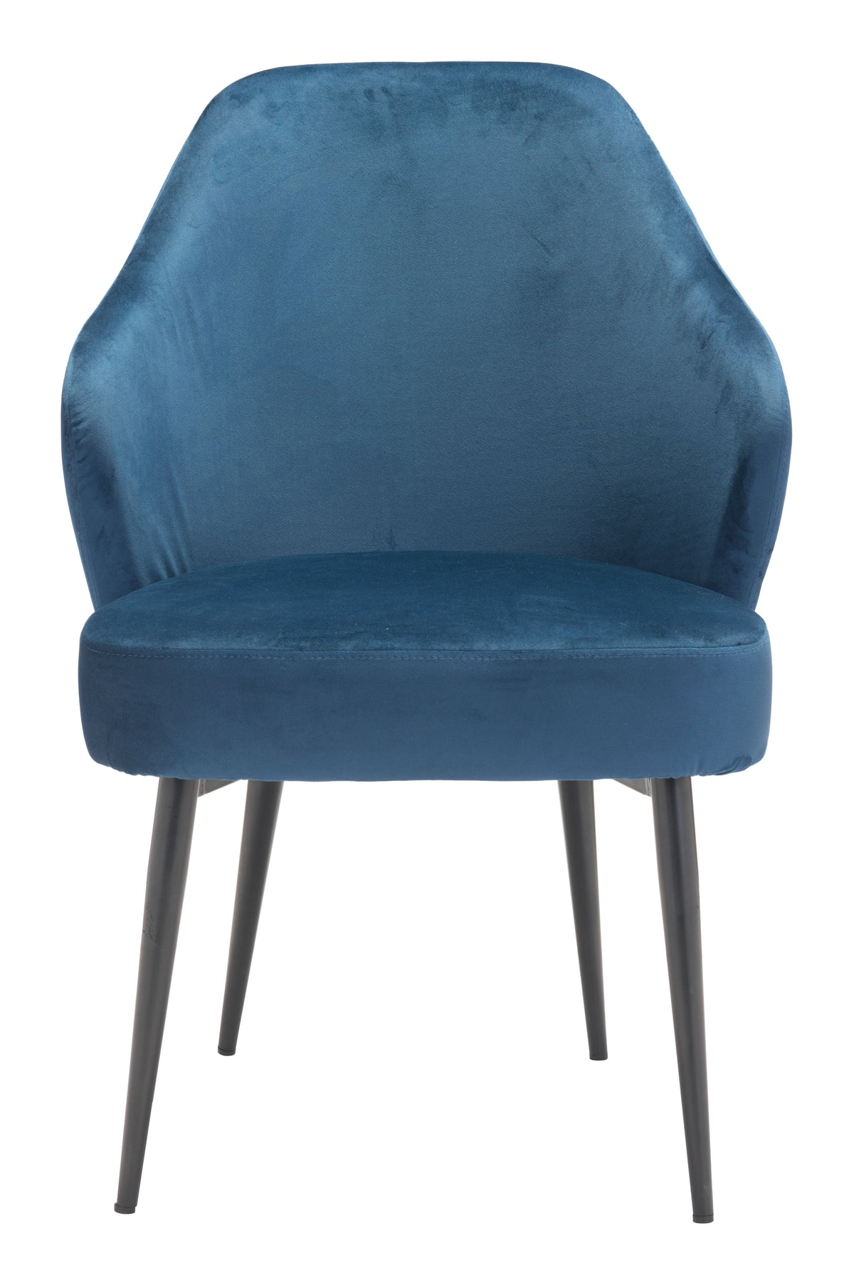 Nimbus Dining Chair Blue Velvet