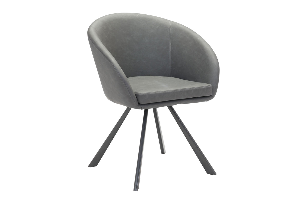 Anvil Dining Chair Gray