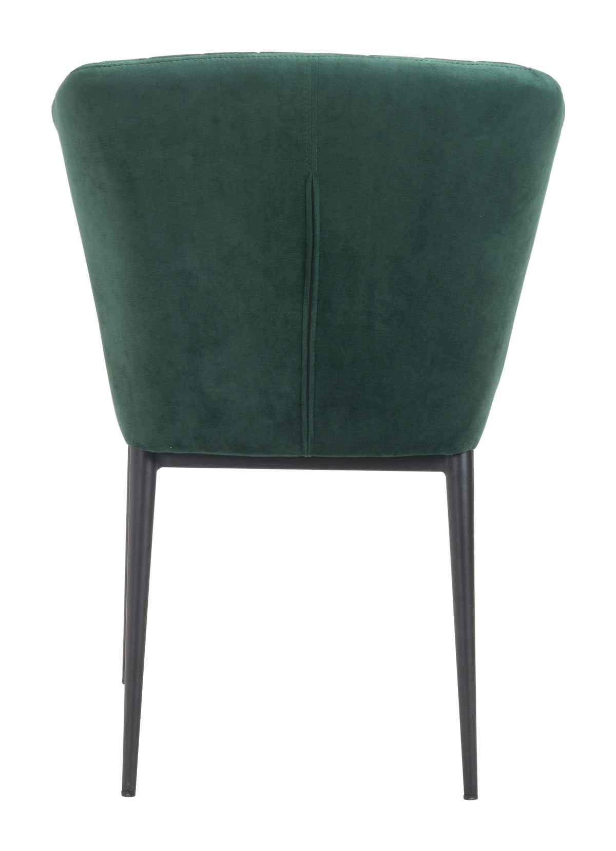 Paras Dining Chair Green Velvet - Set of 2