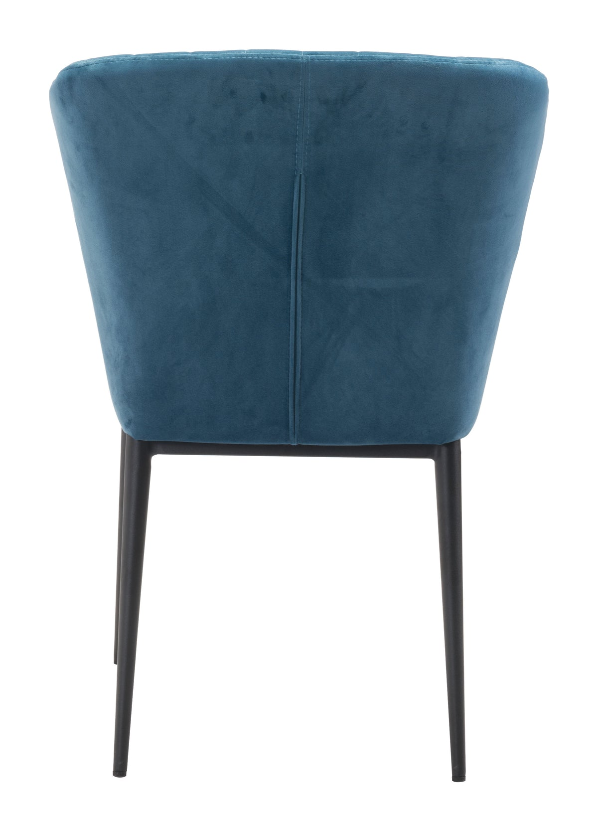 Paras Dining Chair Blue Velvet - Set of 2