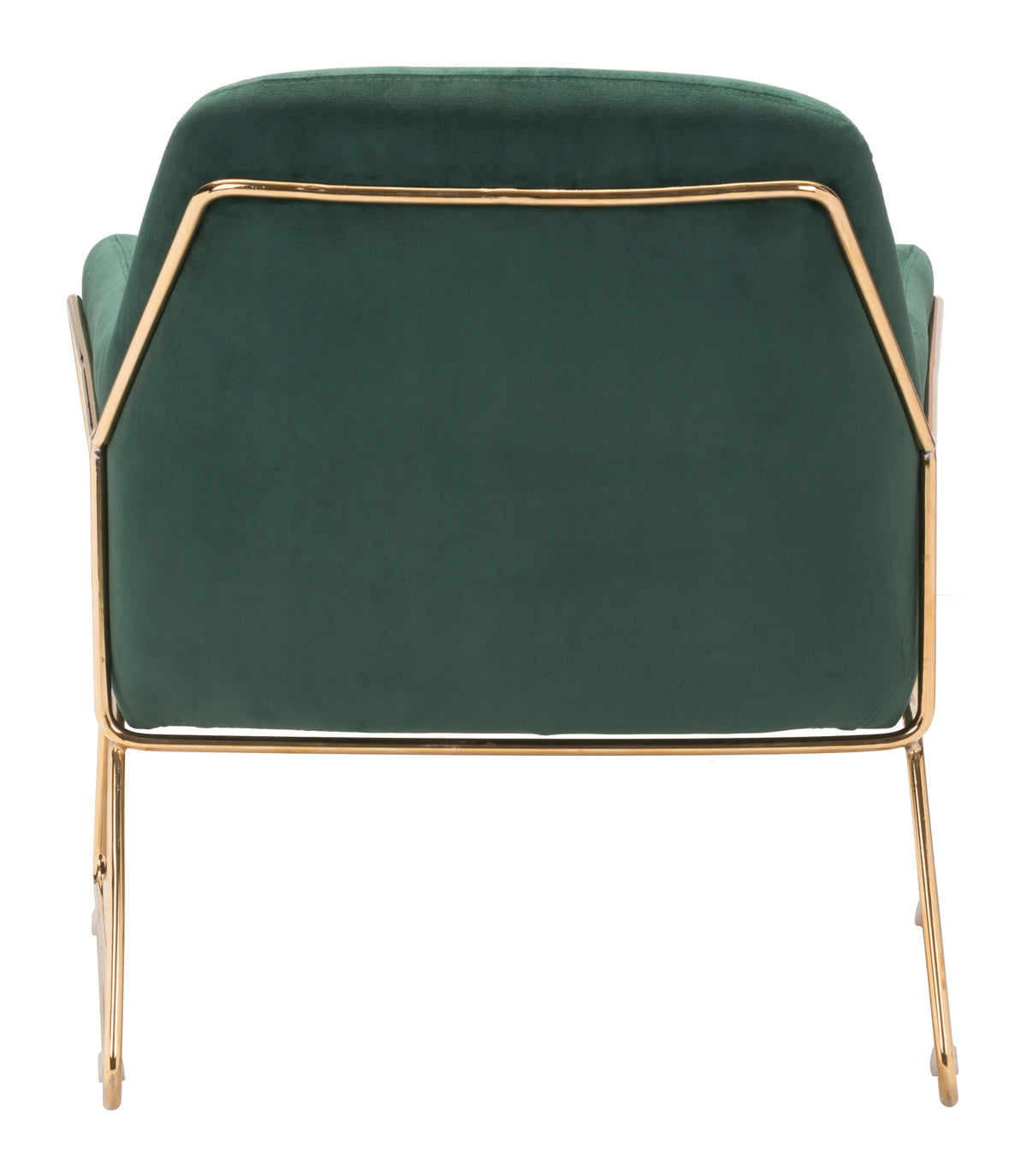 Ulla Arm Chair Green Velvet