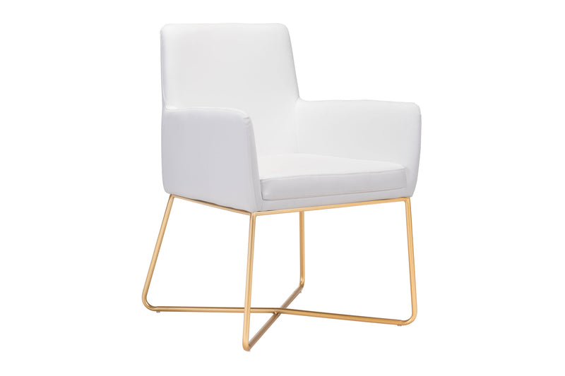 Nebu Arm Chair White
