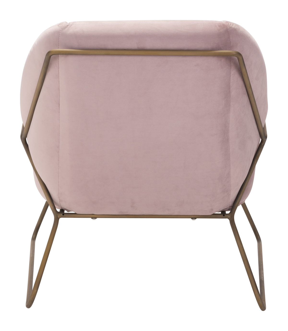 Atica Arm Chair Pink Velvet