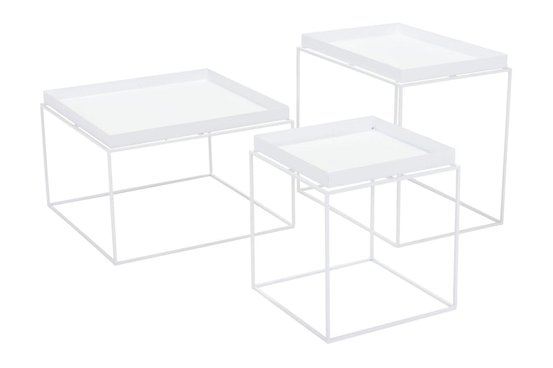 Dot Nesting Table White