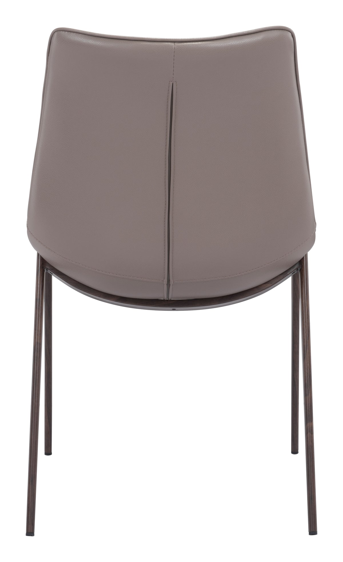 Bori Dining Chair Gray & Walnut - Set of 2