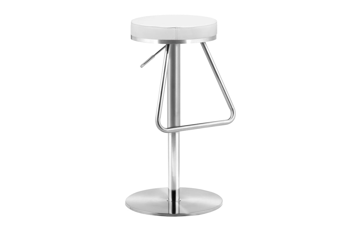 Tangent Counter Stool White