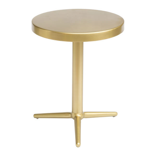 Panal Accent Table Brass