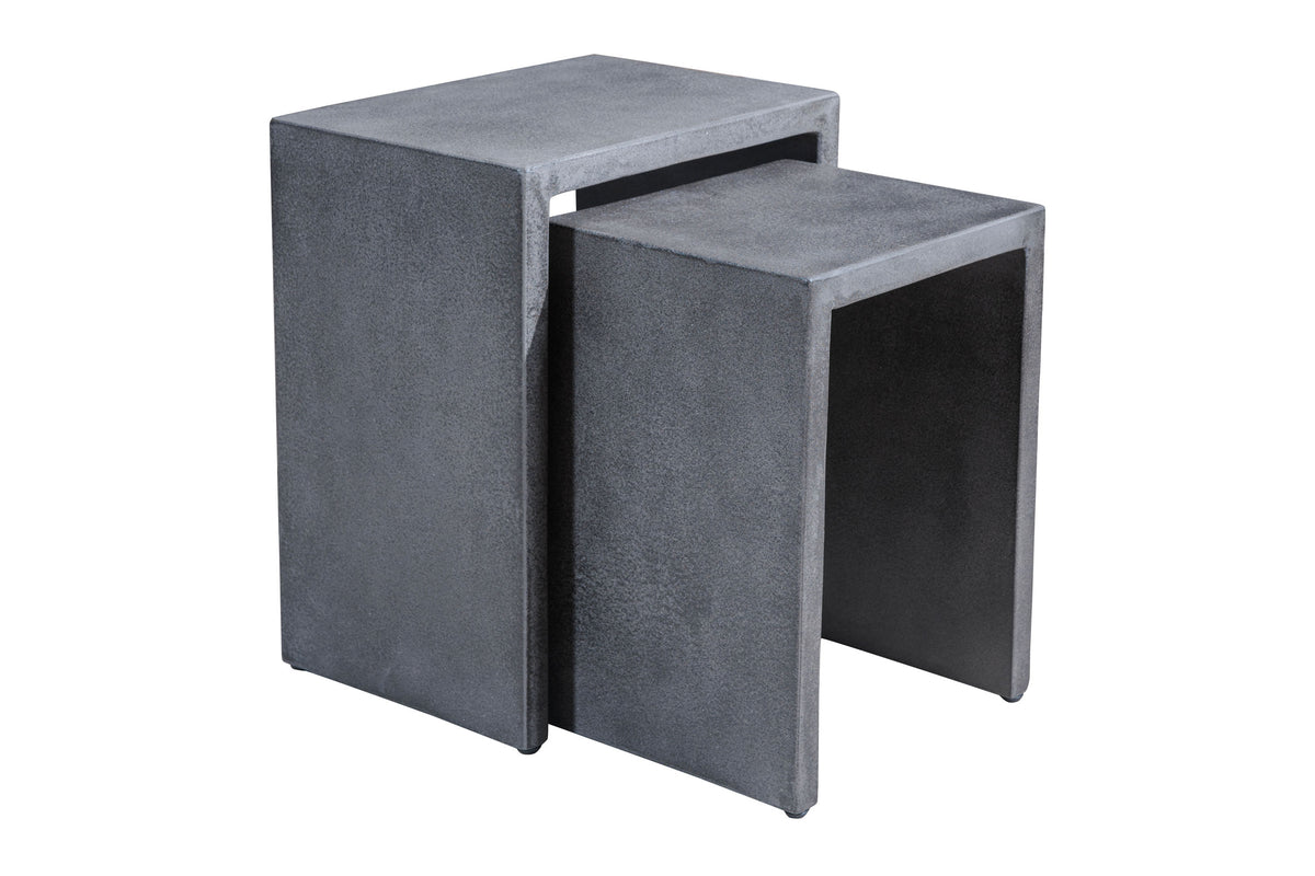 Taiga Nesting Side Table Cement