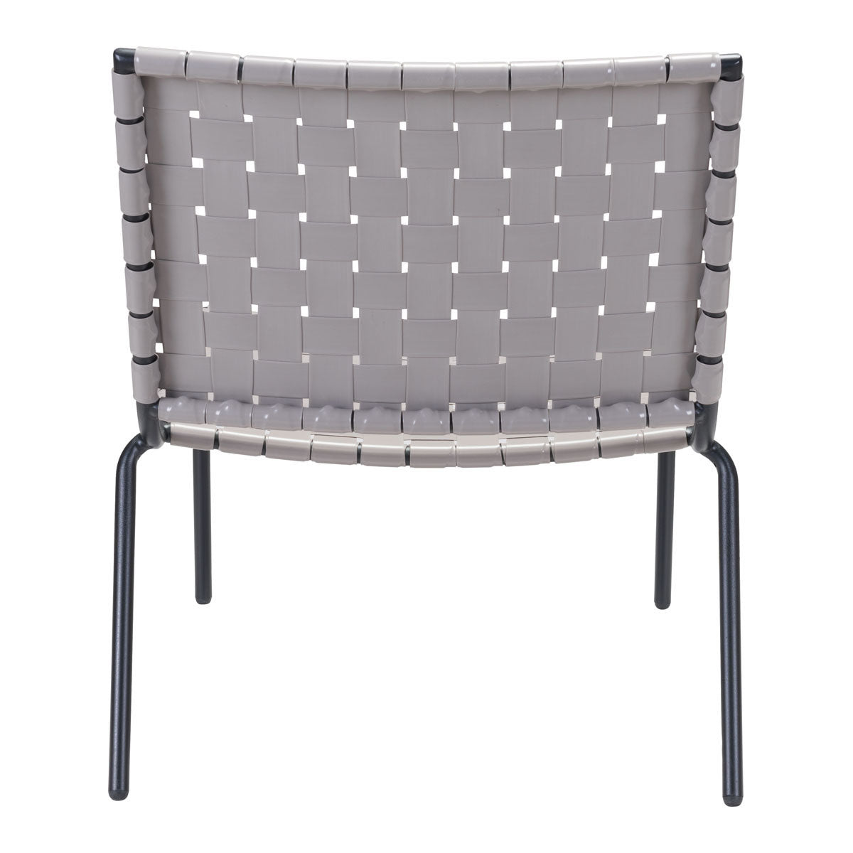 Zalco Outdoor Lounge Chair Light Gray