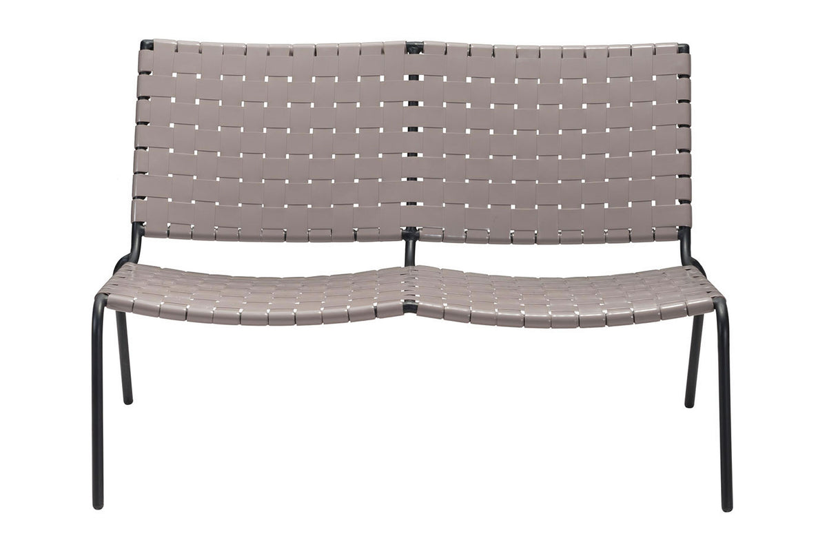 Zalco Outdoor Loveseat Light Gray