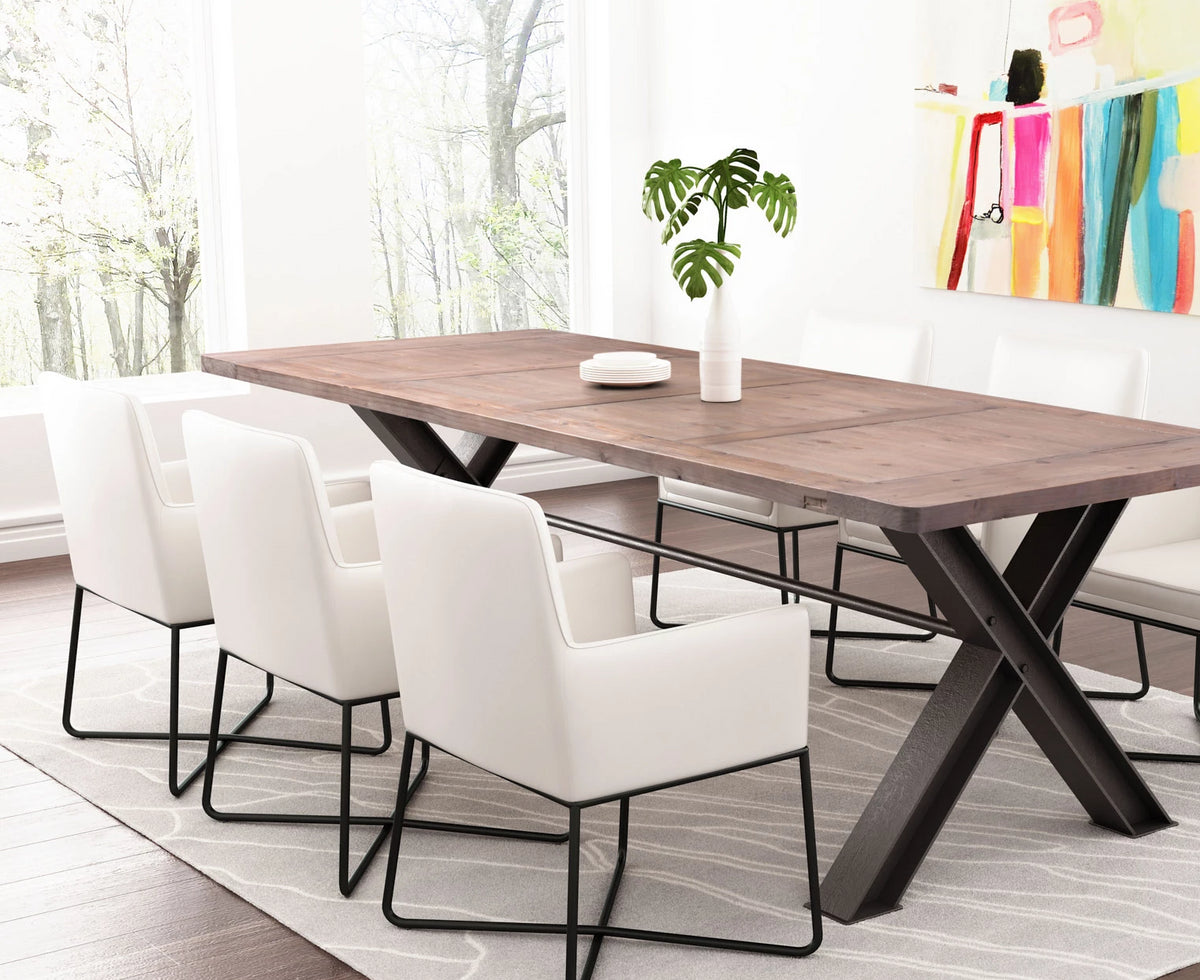Willo Dining Table Distressed Natural
