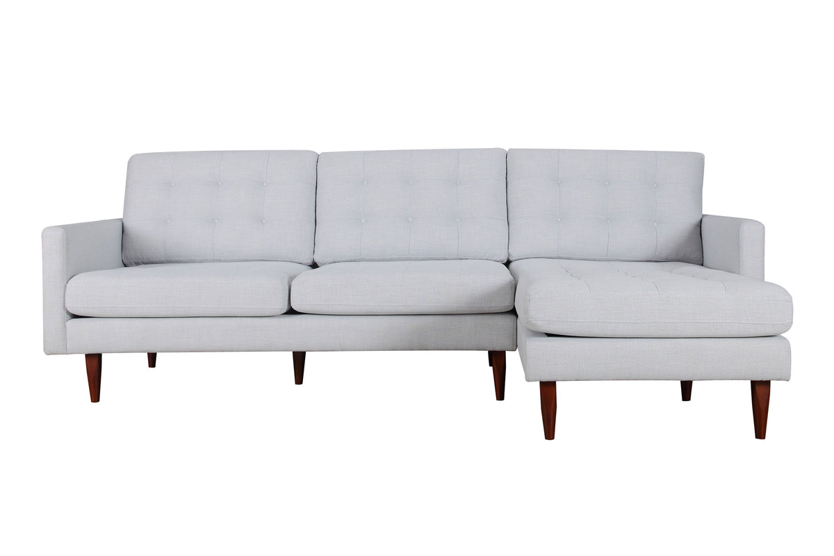Nera Sectional Gray