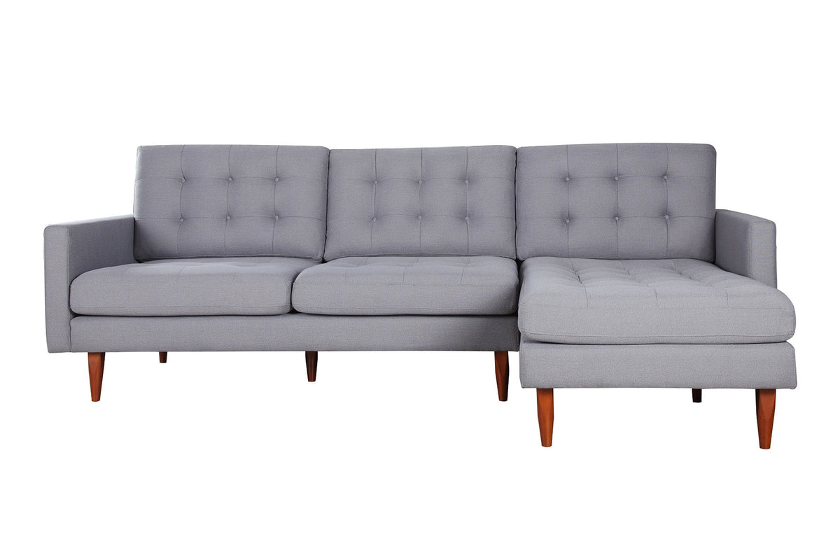 Nera Sectional Dark Gray