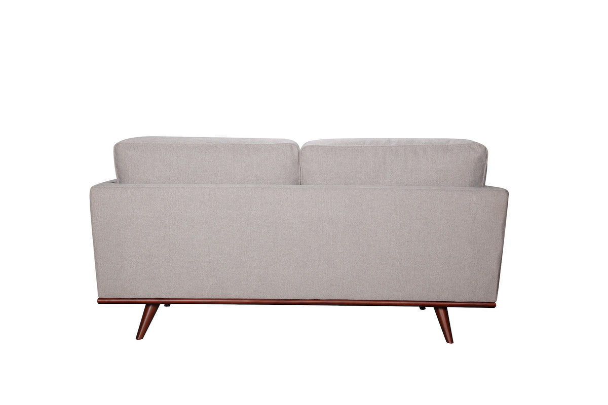 Sabina Loveseat Gray