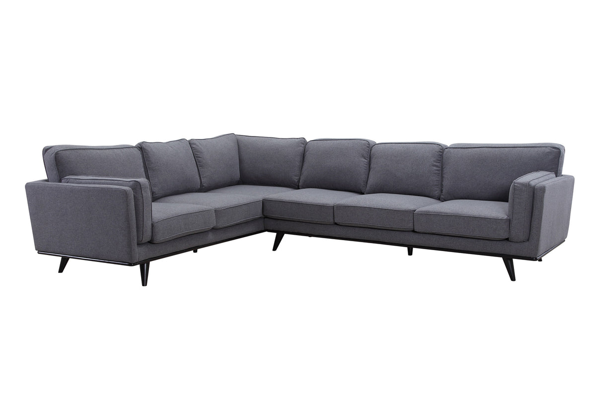 Sabina Sectional Dark Gray
