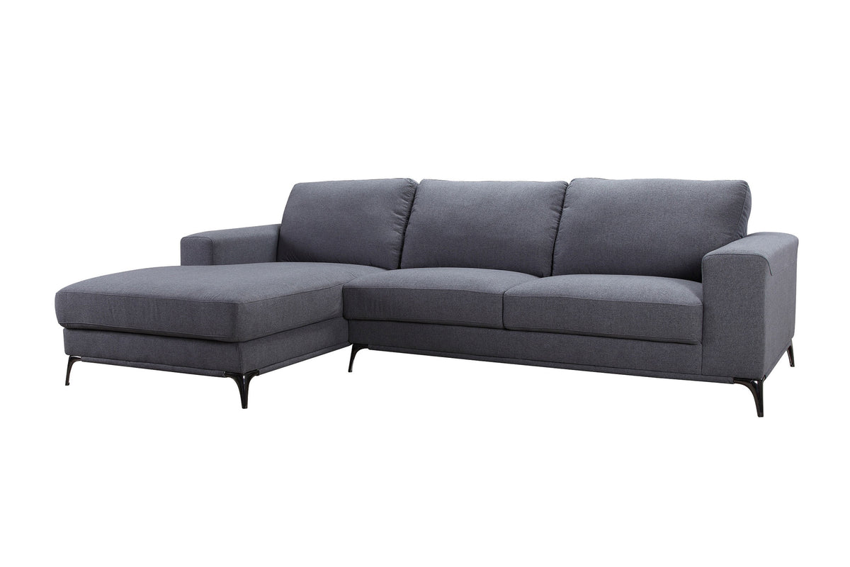 Clarus Sectional Dark Gray