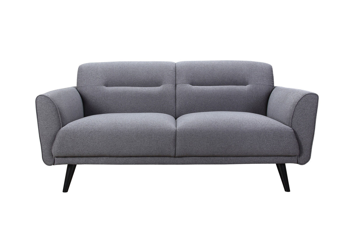 Equa Loveseat Gray