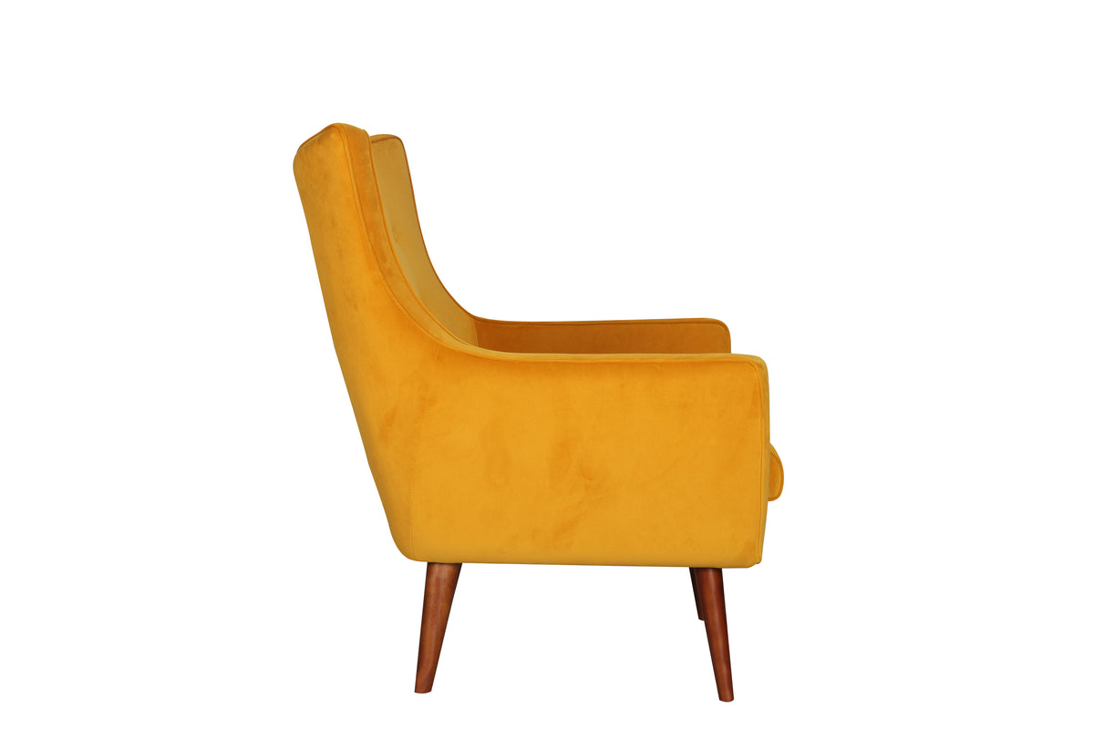 Festa Velvet Lounge Chair