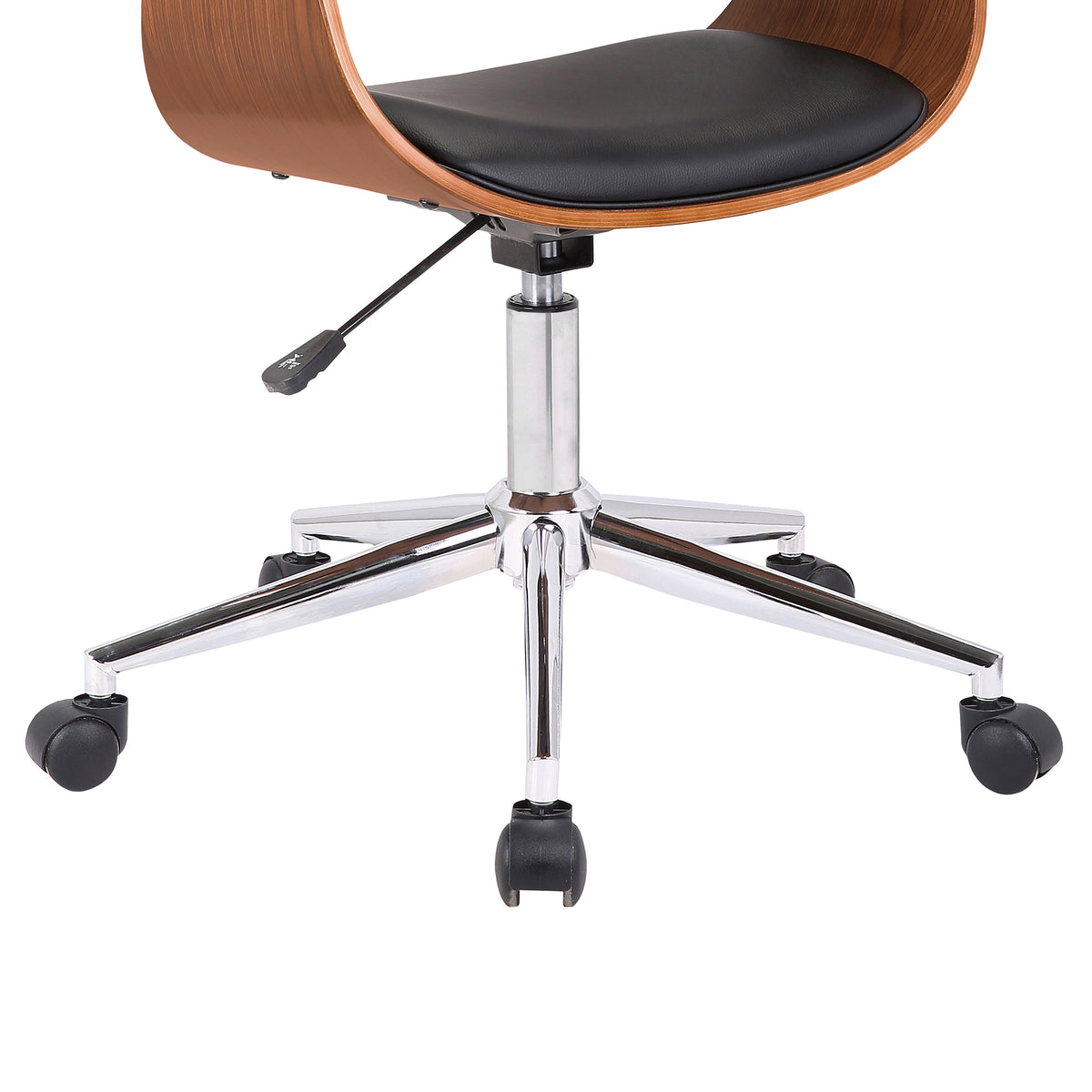 Nord Office Chair Black and Walnut