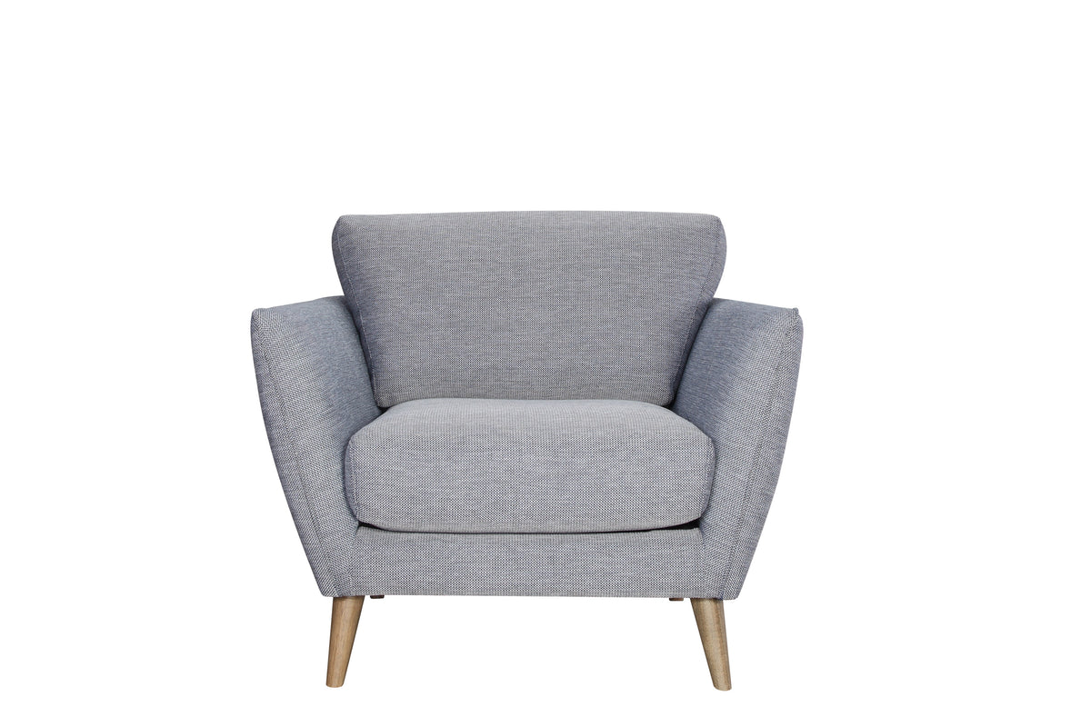 Caya Arm Chair Gray