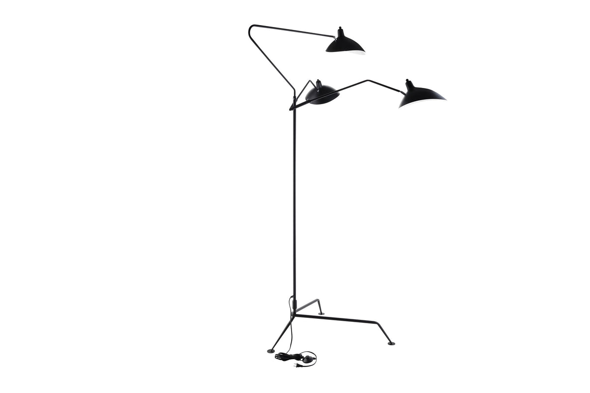 Azueta Floor Lamp Black