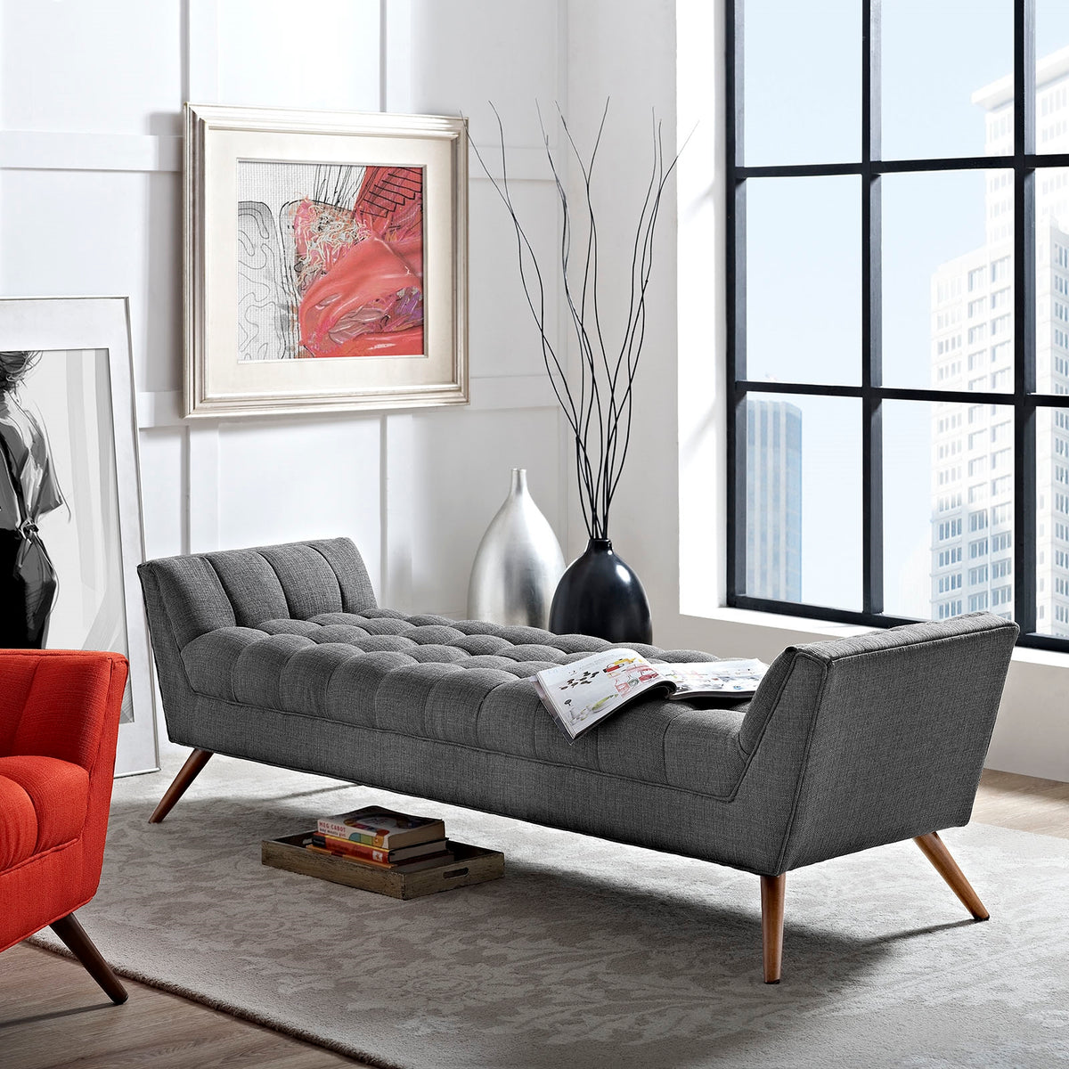 Argo Bench Gray