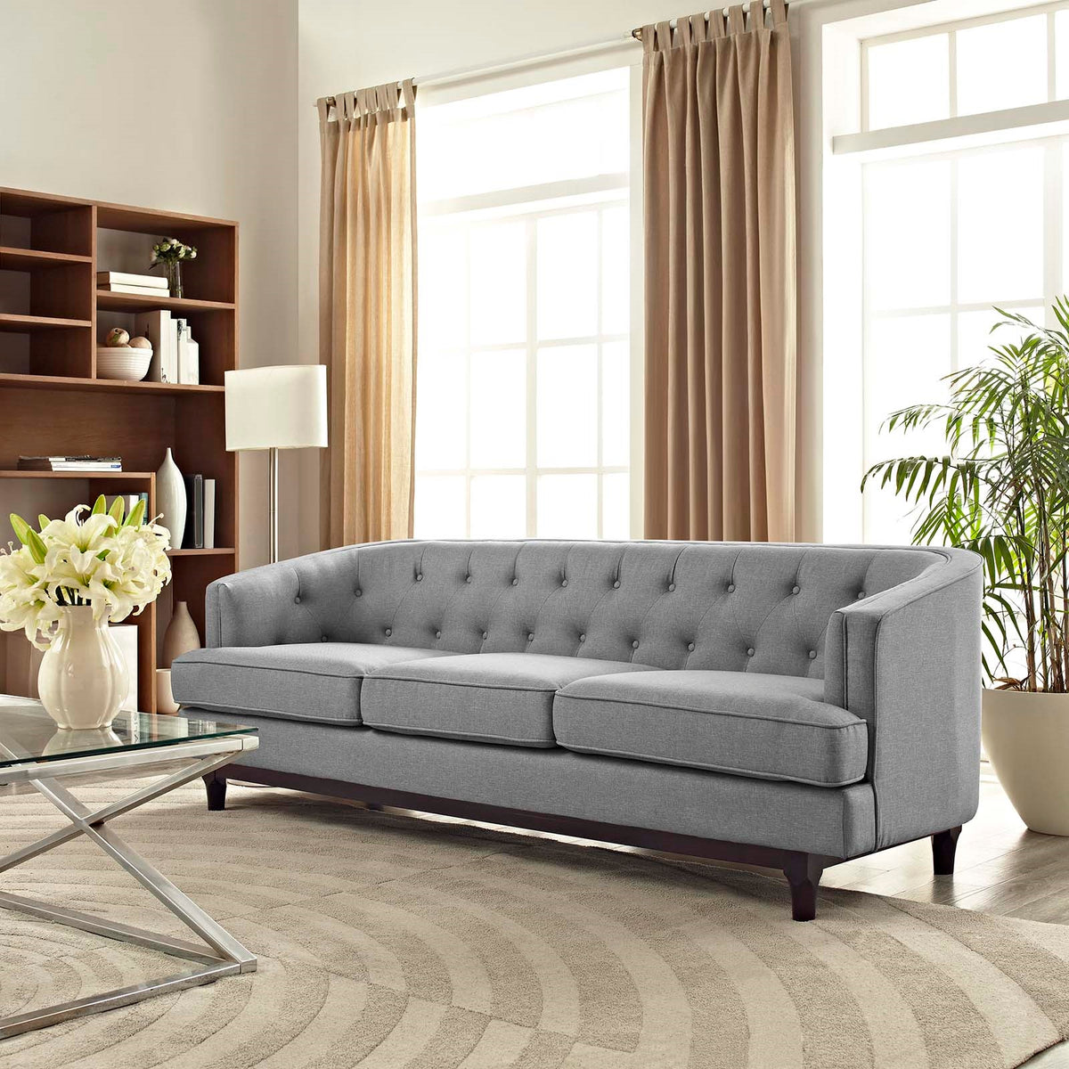 Barlo Sofa Light Gray