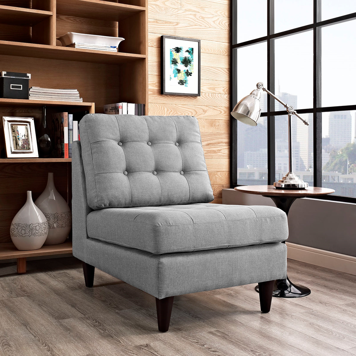 Shelby Armchair Gray