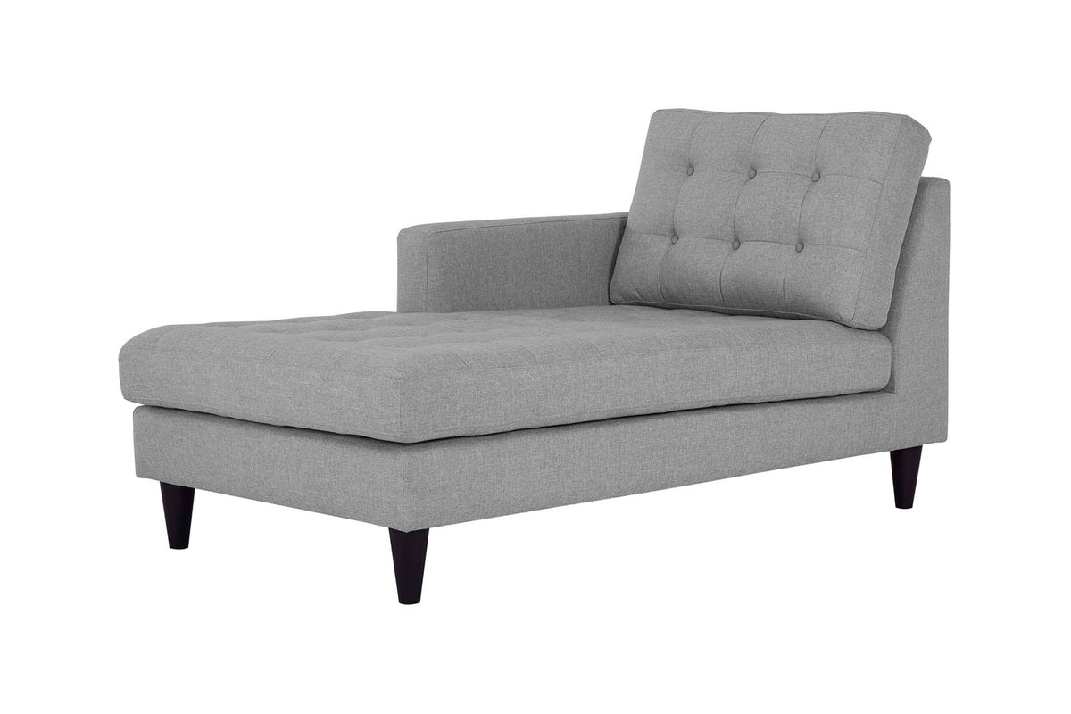 Maki Chaise Left-Arm Light Gray